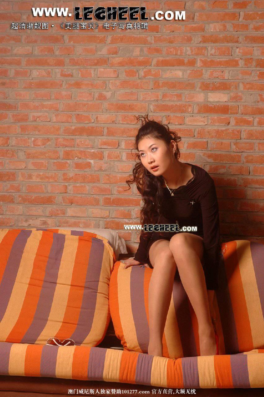 中国腿模网Legheel系列-丽娜_美腿画框 [19P]