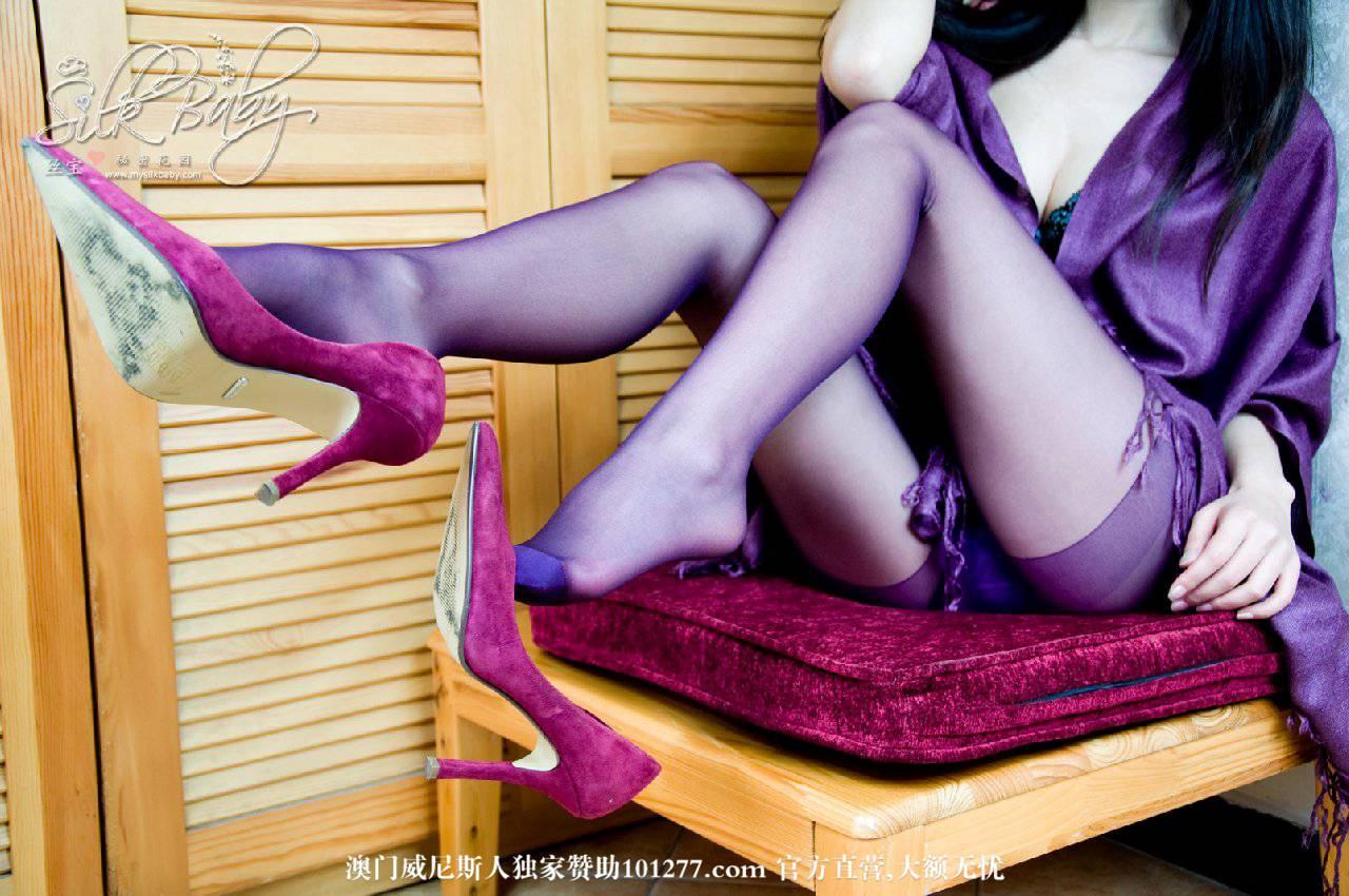 Sibao丝宝VIP套图-沏一杯紫色茶 [19P]