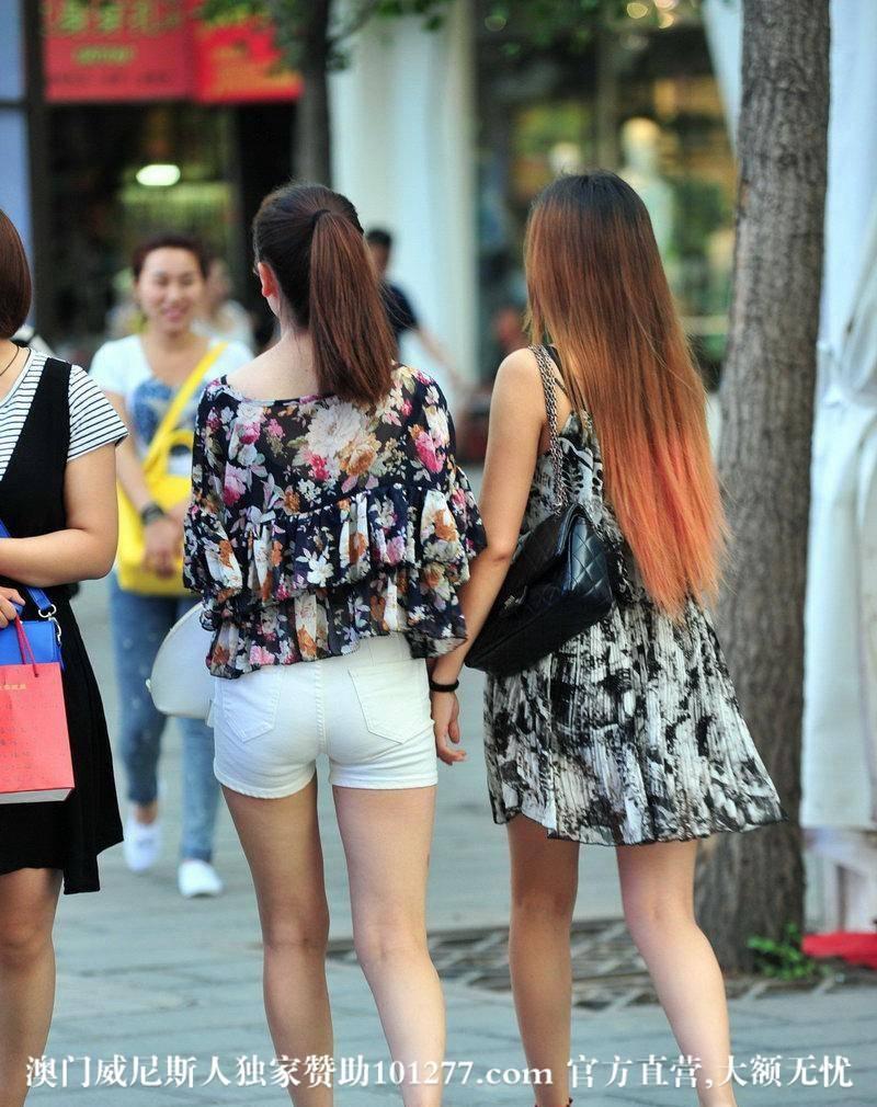 逛街的2个美女【8P】
