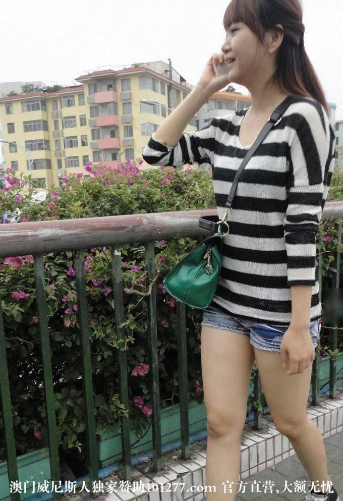 国外在线观看AV_條紋上衣超短牛仔褲女生【10P】